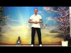 Cviky na štíhlý pas. Cvičení qi gong (chi kung) na hubnutí. - YouTube