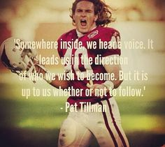Day 3. People who inspire me: Pat Tillman