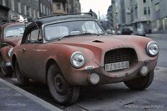 volvo p1900, worn and cool