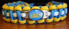 Denver Nuggets NBA Custom Made to Order Paracord by duckhunter68, $16.95