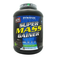 Dymatize Super Mass Gainer Chocolate Mint - 6 LBS #fitness #healthy #health #sports #fitnessmodel #gym