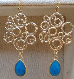 Filigree Garden Earrings