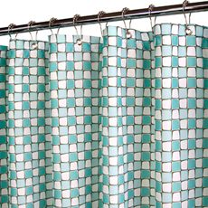 "Park B. Smith® Urban Tiles Aquamarine 72"" x 72"" WaterShed® Shower Curtain - Bed Bath & Beyond"