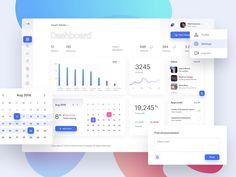 School Management Dashboard designed by Tamerlan Aziev. Connect with them on Dribbble; Web Design, App Ui Design, Dashboard Design, Student Dashboard, Data Dashboard, Dashboard Mobile, Mobile Ui, Portal Design, Student Portal
