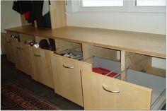 Want to Build Mudroom Lockers...? » IKEA FANS | THE IKEA Fan Community. Laundry room under windows