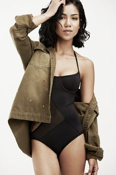 One piece @Who What Wear - Jhene Aiko Suits Up For Summer—In 5 Cool Looks