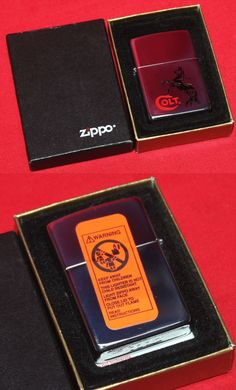 Advertisements 71132: Colt Firearms Factory Rampant Colt Zippo Lighter Mint In Case BUY IT NOW ONLY: $59.99