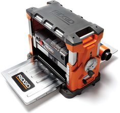 Ridgid R4330 Planer Shaves Wood to Deli-Thin Slices