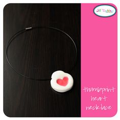 Thumbprint necklace - ?Mothers Day