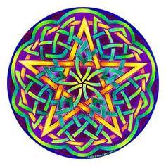 Beautiful pentagram