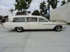 1963 Pontiac Bonneville Ambulance.
