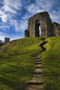 Norman Christchurch Castle , Dorset, England