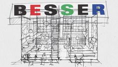 besser-sketch-1920x1099 Sydney Food, Surry Hills, Places To Go, Restaurants, Sketch, Space, Italy, Diners, Sketch Drawing