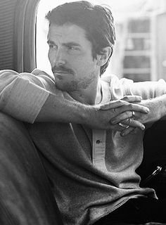 Christian Bale...As he grows with every movie, every role as a actor, hardworking & huble as every, so does my adoration of him