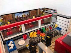 Beneficent caused lego storage ideas published here Legos, Lego Creationary, Lego Toys, Lego Batman, Lego Activities, Lego Games, Lego Pizza, Lego Storage, Storage Ideas