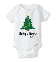 Christmas Onesie\u00ae Baby shower gift Baby Shower Gift Baby girl Holiday Onesie\u00ae Baby boy Baby Onesie\u00ae Merry Christmas Onesie\u00ae