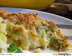 Fast Dinners, Quiche, Mashed Potatoes, Cauliflower, Macaroni And Cheese, Food And Drink, Treats, Homemade, Vegetables