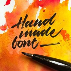 🖋 #handmadefont #handmadefontlogo @handmadefont - - - #typespire #lettering #calligraphy #handlettering #typetopia #artoftype #ligaturecollective #strengthinletters #letteringco #customtype #typematters #thedailytype #inspiration #design #TYxCA #typeverything #goodtype #typegang #calligritype #brushcalligraphy #moderncalligraphy #handstyle #calligraphymasters #typespot #greattype #typographyinspired #designspiration #brushlettering
