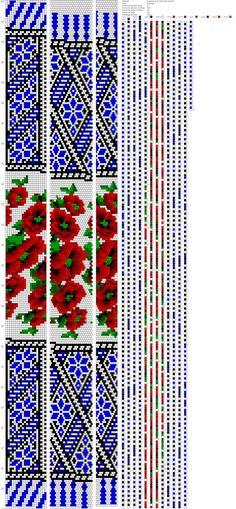 Бисер и бисероплетение на Biserok.org | ВКонтакте Crochet Bracelet Pattern, Crochet Beaded Bracelets, Bead Crochet Patterns, Bead Crochet Rope, Bead Loom Bracelets, Beading Patterns, Beaded Cross Stitch, Bead Jewellery, Beading Projects