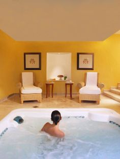 Сауна + душ Шарко + джакузи в саду + внимательный и любезный персонал спа = ваша свадьба в отеле Каса Велас♥