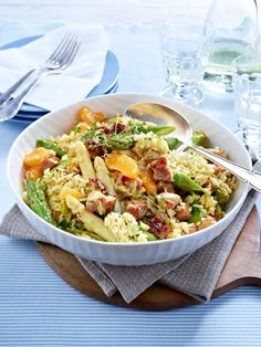 Spargel-Kasseler-Salat