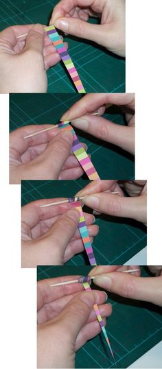 Things to make and do: Paper Bead Bracelet