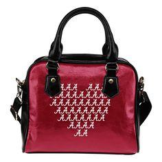 Alabama Crimson Tide Heart Shoulder Handbags – Best Funny Store