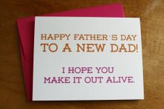 Father's Day - New Dad, $4.00 by Colette Paperie
