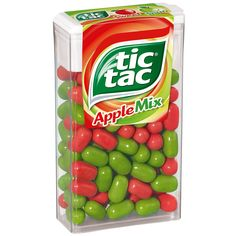 -in USA- Tic Tac Apple Mix mints - 49g - Limited Edition