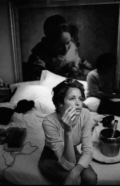 """From series """"Preparation""""© Larry Fink Photography"""