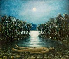 Noel Hodnett -Bushpig Moon II