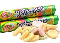 Barratts Refreshers - retro 70 sweets I still eat them now! 1970s Childhood, My Childhood Memories, Sweet Memories, 80s Sweets, Old Fashioned Sweets, British Sweets, Vintage Sweets, My Memory, Sweets