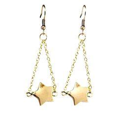 star drop earrings £13
