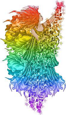 rainbow anime fairy   fairy of the rainbow :: Fantasy :: MyNiceProfile.com