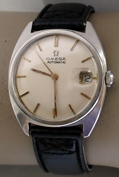 OMEGA AUTOMAAT STAAL datum 1970