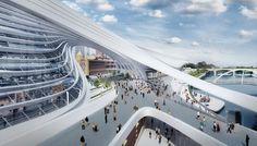 Proposal: Flinders Street Station Competition | #ZahaHadidArchitects - #Arch2O.com