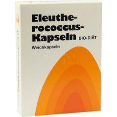 ELEUTHEROCOCCUS Kapseln N:   Packungsinhalt: 48 St Weichkapseln PZN: 04996172 Hersteller: BIO-DIAET-BERLIN GmbH Preis: 7,99 EUR inkl. 19…