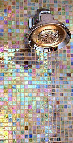 Shades Of Lavender ● Bathroom, tiles