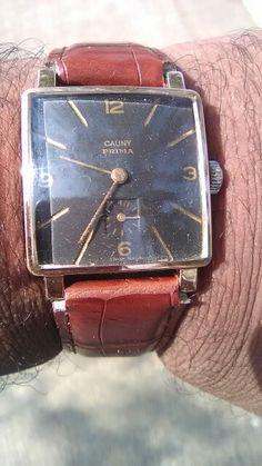 Vintage Cauny Prima Side Second Wrist Watch