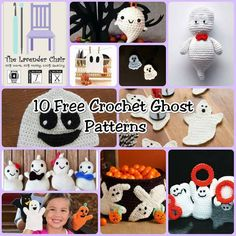 10 Free Crochet Ghost Patterns