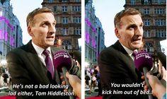 Christopher Eccleston makes a good point about Tom Hiddleston