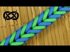How to make a Symmetry Bar Paracord Sinnet (Paracord 101) - YouTube