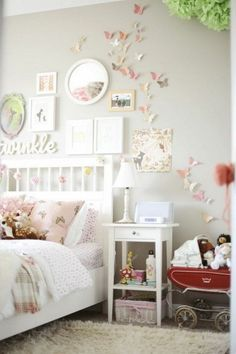 nice 58 Vintage Teenage Girls Bedroom Ideas http://about-ruth.com/2017/09/30/58-vintage-teenage-girls-bedroom-ideas/