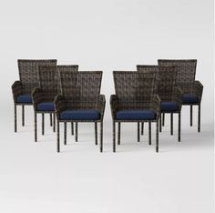 Wicker Dining Set, Patio Dining Chairs, Outdoor Dining Set, Patio Table, Dining Chair Set, Outdoor Furniture Sets, Porch Furniture, Contemporary Adirondack Chairs, Polywood Adirondack Chairs