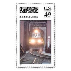 Norfolk Southern #3288 Postage Stamps - $25.15--- Make each letter a special delivery! Put a personal touch on your mail, or share this useful gift with friends and family. Zazzle's large custom stamps are especially perfect for standard letters and larger envelopes.