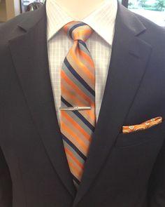 Orange hues are a po
