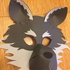 04959abd342 molde mascara lobo mau
