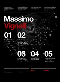 Massimo Vignelli's quotes.