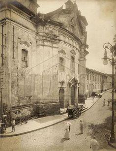 Old Belém ( Church of Mercy, the beginning of the twentieth century.) Belém - Pará - Brazil