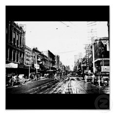 Poster-Vintage Dallas Photography-18 (Elm St in 1909)